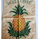 Tropical Pineapple Welcome Banner Colonial Williamsburg Souvenir