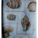 Seashells Fabric Shower Curtain