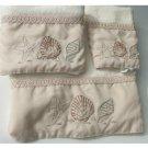 Seashells Starfish Bath Towel Set