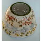 Home Interiors Floral Candle Shade