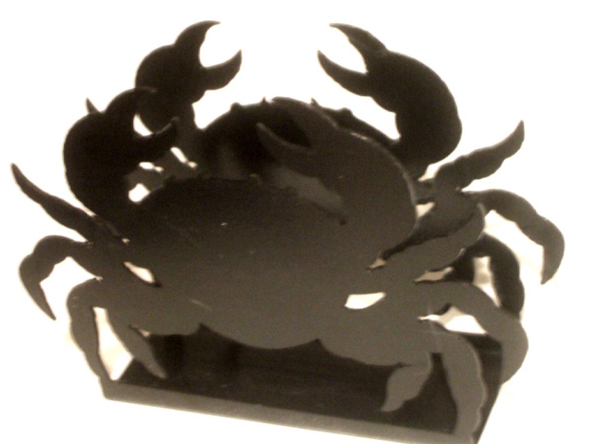 Crab Napkin Holder Wrought Iron Nautical Decor