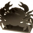 Crab Napkin Holder Wrought Iron Nautical Decor