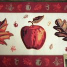 Apple Leaves Autumn Rug Fall Mat