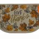 Fall Autumn Leaves Thanksgiving Kitchen Rug Give Thanks Mat