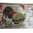 Rooster Kitchen Rug Country Décor