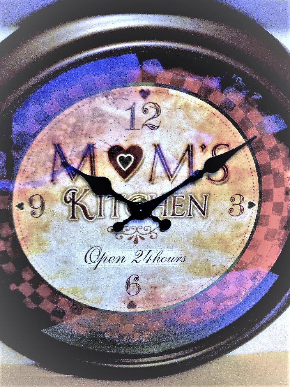 Mom's Kitchen Wall Clock