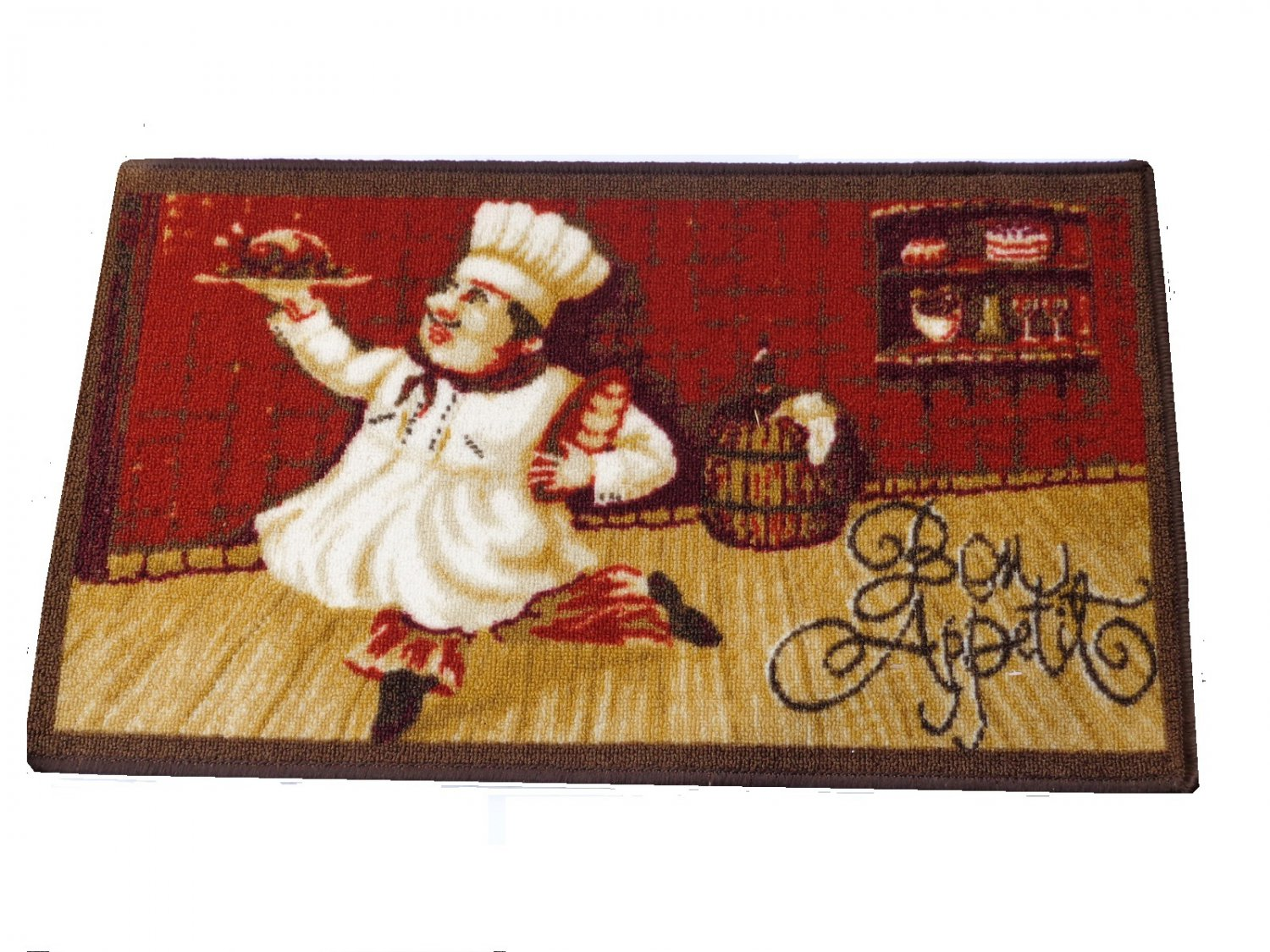 Fat Chef Kitchen Rug Bon Appetit