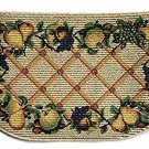 Fruit Kitchen Rug Orchard Apples Pears Grapes