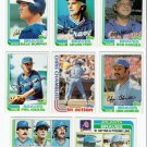 1982 Topps Atlanta Braves Team Set-28 Cards