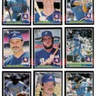 1985 Donruss Atlanta Braves Team Set-20 Cards