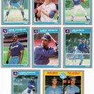 1985 Fleer Atlanta Braves Team Set-26 Cards