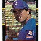 1987 Donruss Atlanta Braves Team Set-21 Cards