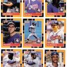 1988 Donruss Baseballs Best Atlanta Braves-11 Cd