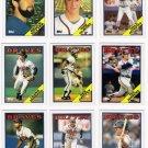 1988 Topps Atlanta Braves Team Set-28 Cards