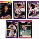 1989 Donruss Atlanta Braves Team Set-23 Cards