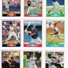 1989 Score Atlanta Braves Team Set-21 Cards