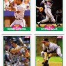 1989 Score Update Atlanta Braves Team-4 Cards