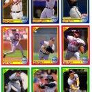 1990 Score Atlanta Braves-26 Cards