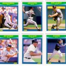 1990 Score Rising Stars Atlanta Braves-6 Cd