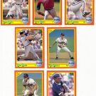 1990 Score Update & Rookies Atlanta Braves-7 Cd