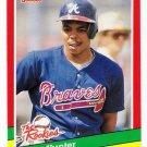 1991 Donruss The Rookies Atlanta Braves-1 Cards