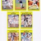 1991 Fleer Update Atlanta Braves-7 Cards