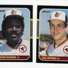 1987 Donruss Baltimore Orioles Team Set-25 Cards