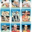 1987 Fleer Baltimore Orioles Team Set-23 Cards