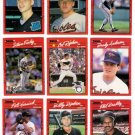 1990 Donruss Baltimore Orioles Team Set-27 Cards