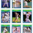 1990 Score Rising Stars Baltimore Orioles-9 Cd