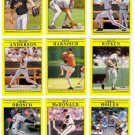 1991 Fleer Baltimore Orioles Team Set-32 Cards