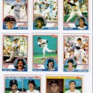 1983 Topps Boston Red Sox Team Set-28 Cards (No Boggs)