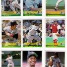 1984 Donruss Boston Red Sox Team Set-23 Cards
