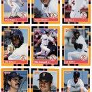 1988 Donruss Baseballs Best Boston Red Sox-12 Cd