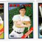 1988 Topps Traded Boston Red Sox Team Set-3 Cards