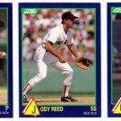 1989 Score Rising Stars Boston Red Sox-3 Cd