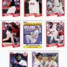 1990 Fleer Regular & Update Boston Red Sox-33 Cds