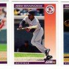 1992 Score Update & Rookies Boston Red Sox-3 Cd