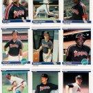 1984 Fleer California Angels Team Set-27 Cards