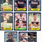 1986 Fleer California Angels Team Set-26 Cards