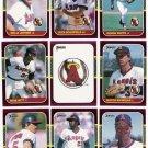 1987 Donruss Opening Day California Angels-11 Cd
