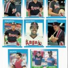 1987 Fleer California Angels Team Set-24 Cards
