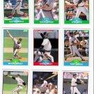 1989 Score California Angels Team Set-28 Cards