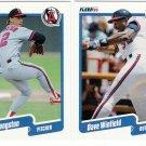1990 Fleer Update California Angels-6 Cards