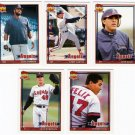 1991 Topps Traded California Angels Team Set-5 Cards