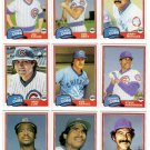 1981 Topps Traded Chicago Cubs Team Set-10 Cards