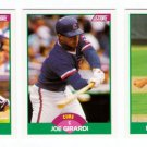 1989 Score Update Chicago Cubs Team-3 Cards