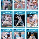 1990 Donruss Best of N.L. Chicago Cubs-12 Cards