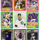 1990 Score Chicago Cubs-33 Cards