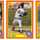 1990 Score Update & Rookies Chicago Cubs-3 Cd